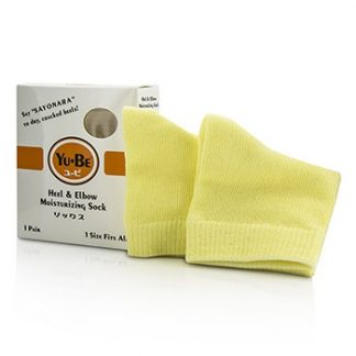 YU-BE HEEL & ELBOW SOCKS - ONE SIZE FITS ALL 1 PAIR