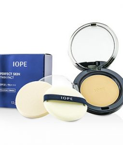 IOPE PERFECT SKIN TWIN PACT SPF32 - # 23 NATURAL BEIGE 12G/0.4OZ