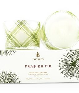 THYMES AROMATIC CANDLE SET - FRASIER FIR 2X105G/3.75OZ