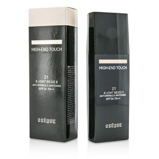 OSEQUE HIGH END TOUCH ANTI WRINKLE & WHITENING (ROLLER) FOUNDATION SPF34 - #21 LIGHT BEIGE 30ML/1OZ