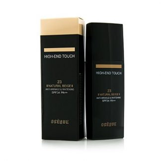 OSEQUE HIGH END TOUCH ANTI WRINKLE & WHITENING (ROLLER) FOUNDATION SPF34 - #23 NATURAL BEIGE 30ML/1OZ