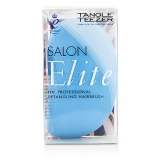 TANGLE TEEZER SALON ELITE PROFESSIONAL DETANGLING HAIR BRUSH - BLUE BLUSH (FOR WET & DRY HAIR) 1PC