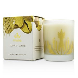 MALIE SOY CANDLE - COCONUT VANILLA 240ML/8OZ