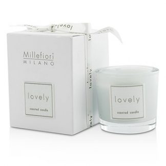 MILLEFIORI LOVELY CANDLE IN BICCHIERE - AZZURRO 60G/2.11OZ