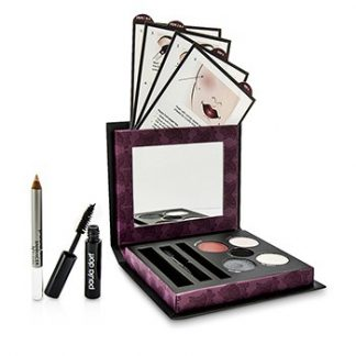 PAULA DORF SMOKEY EYE COLLECTION (3X EYE SHADOW, 1X EYE LINER, 1X LIP & CHEEK STAIN, 1X MASCARA, 1X ENHANCER PENCIL, 1X APPLICATOR) 39G/1.37OZ