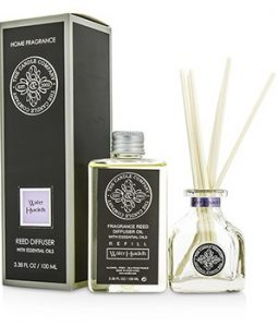 THE CANDLE COMPANY REED DIFFUSER WITH ESSENTIAL OILS - WATER HYACINTH 100ML/3.38OZ