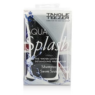 TANGLE TEEZER AQUA SPLASH DETANGLING SHOWER BRUSH - # BLACK PEARL (FOR WET HAIR) 1PC