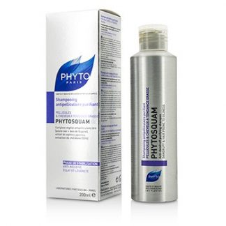 PHYTO PHYTOSQUAM ANTI-DANDRUFF PURIFYING SHAMPOO (FOR DANDRUFF & HAIR PRONE TO OILINESS) 200ML/6.7OZ