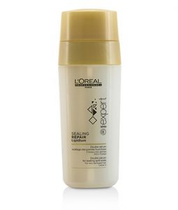L'OREAL PROFESSIONNEL EXPERT SERIE - SEALING REPAIR LIPIDIUM DOUBLE SERUM - LEAVE IN (FOR SEALING SPLIT ENDS & VERY DAMAGED HAIR) 2X15ML/0.5OZ