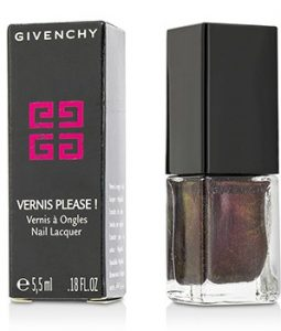 GIVENCHY VERNIS PLEASE NAIL LACQUER - # 120 FATAL PLUM 5.5ML/0.18OZ