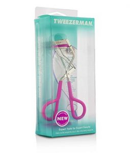 TWEEZERMAN NEON GREAT GRIP EYELASH CURLER - #NEON PINK -