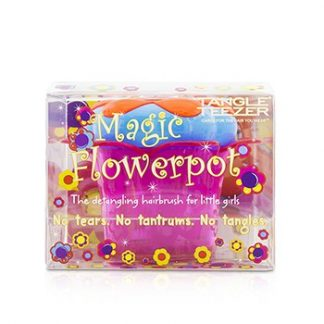 TANGLE TEEZER MAGIC FLOWERPOT CHILDRENS DETANGLING HAIR BRUSH - # POPPING PURPLE 1PC