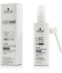 SCHWARZKOPF BC HAIR ACTIVATOR 6 WEEKS ACTIVATING REGIME FORTIFYING TONIC (FOR THINNING HAIR) 100ML/3.4OZ