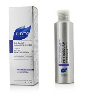 PHYTO PHYTOSQUAM ANTI-DANDRUFF MOISTURIZING SHAMPOO (DANDRUFF & DRY HAIR) 200ML/6.7OZ