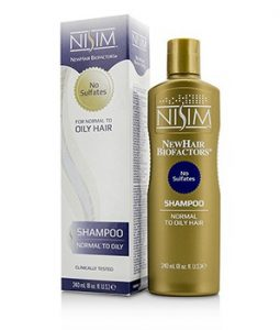 NISIM NO SULFATES SHAMPOO (FOR NORMAL TO OILY HAIR) 240ML/8OZ