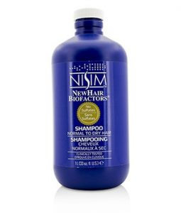 NISIM NO SULFATES SHAMPOO (FOR NORMAL TO DRY HAIR) 1000ML/33OZ