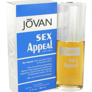 JOVAN SEX APPEAL COLOGNE EDC FOR MEN