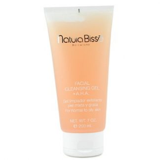 NATURA BISSE FACIAL CLEANSING GEL WITH AHA (FOR NORMAL TO OILY SKIN) 200ML/7OZ