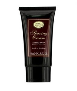 THE ART OF SHAVING SHAVING CREAM - SANDALWOOD ESSENTIAL OIL 75ML/2.5OZ