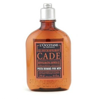 L'OCCITANE CADE FOR MEN REINVIGORATING SHOWER GEL 250ML/8.4OZ