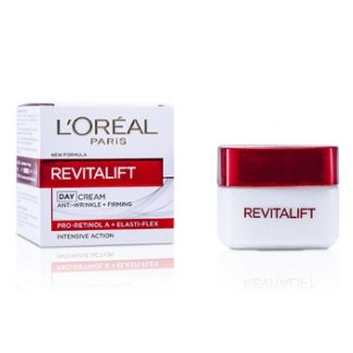 L'OREAL DERMO-EXPERTISE REVITALIFT ANTI-WRINKLE + FIRMING DAY CREAM FOR FACE & NECK (NEW FORMULA) 50ML/1.7OZ
