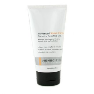 MENSCIENCE ADVANCED SHAVE FORMULA (FOR NORMAL & SENSITIVE SKIN) 165ML/5.6OZ