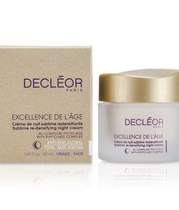 DECLEOR EXCELLENCE DE LAGE SUBLIME RE-DENSIFYING NIGHT CREAM 50ML/1.69OZ