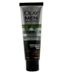OLAY MULTI-SOLUTION SMOOTH CREAM FOAMING CLEANSER 100G/3.3OZ