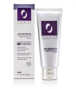 OSMOTICS AGE PREVENTION SHEER FACIAL TINT SPF 45 - DARK45 - DARK 50ML/1.7OZ