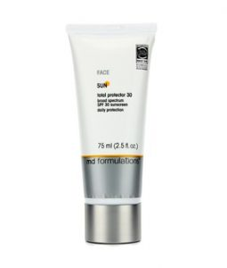 MD FORMULATIONS SUN TOTAL PROTECTOR 30 FOR FACE (NEW PACKAGING) 75ML/2.5OZ