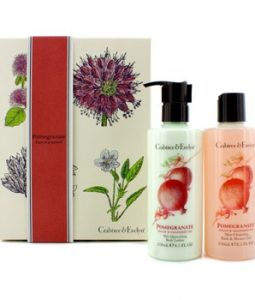 CRABTREE & EVELYN POMEGRANATE, ARGAN & GRAPESEED PERFECT PAIR: BATH & SHOWER GEL 250ML +  BODY LOTION 250ML 2PCS