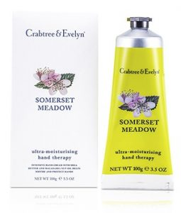 CRABTREE & EVELYN SOMERSET MEADOW ULTRA-MOISTURISING HAND THERAPY 100G/3.5OZ