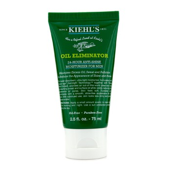 KIEHL'S MENS OIL ELIMINATOR 24-HOUR ANTI-SHING MOISTURIZER 75ML/2.5OZ