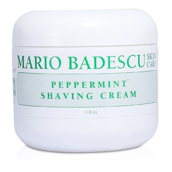 MARIO BADESCU PEPPERMINT SHAVING CREAM 118ML/4OZ