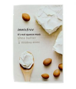 INNISFREE ITS REAL SQUEEZE MASK - SHEA BUTTER 10PCS