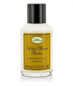 THE ART OF SHAVING AFTER SHAVE BALM - LEMON ESSENTIAL OIL (UNBOXED) 100ML/3.3OZ
