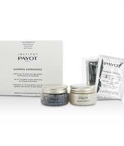 PAYOT SUPREME EXPERIENCE SET: GOMMAGE PERLES 30G/1.05OZ + BAUME FONDANT 30G/1.05OZ + MASQUE CRYSTAL 10APPLICATIONS 12PCS
