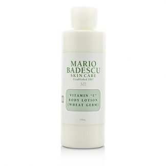 MARIO BADESCU VITAMIN E BODY LOTION (WHEAT GERM) - FOR ALL SKIN TYPES 177ML/6OZ