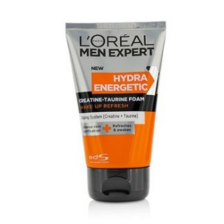 L'OREAL MEN EXPERT HYDRA ENERGETIC X CREATINE-TAURINE FOAM 100ML/3.3OZ