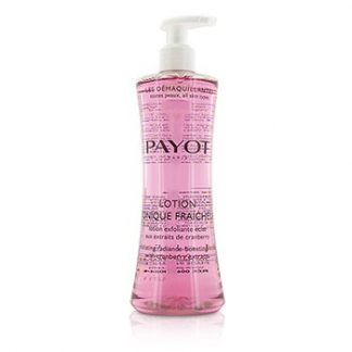 PAYOT LES DEMAQUILLANTES LOTION TONIQUE FRAICHEUR EXFOLIATING RADIANCE-BOOSTING LOTION - FOR ALL SKIN TYPES 400ML/13.5OZ