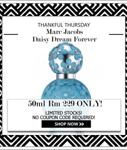MARC JACOBS DAISY DREAM FOREVER EDP FOR WOMEN 50ML [THANKFUL THURSDAY SPECIAL]my
