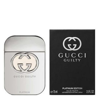 GUCCI GUILTY PLATINUM EDITION EDT FOR WOMEN