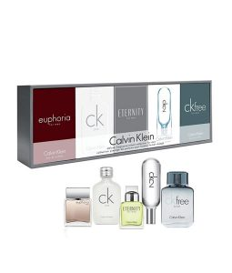 CALVIN KLEIN CK DELUXE FRAGRANCE TRAVEL COLLECTION MINIATURE SET 5PCS GIFT SET 2 FOR MEN