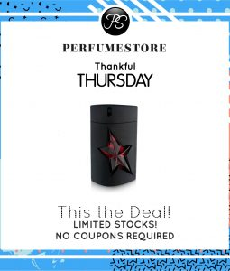 THIERRY MUGLER A MEN EDT FOR MEN 100ML [THANKFUL THURSDAY SPECIAL]
