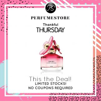 MARC JACOBS DAISY KISS EDT FOR WOMEN 50ML TESTER [THANKFUL THURSDAY SPECIAL]