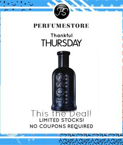 HUGO BOSS BOTTLED NIGHT EDT FOR MEN 200ML [THANKFUL THURSDAY SPECIAL]