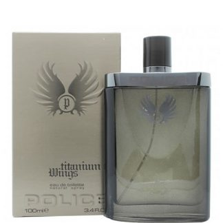 POLICE TITANIUM WINGS EDT FOR MEN