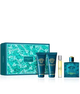 VERSACE EROS 4 PIECES GIFT SET FOR MEN