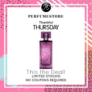 LALIQUE LALIQUE AMETHYST EDP FOR WOMEN 100ML [THANKFUL THURSDAY SPECIAL]
