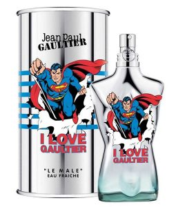 JEAN PAUL GAULTIER JPG LE MALE SUPERMAN EAU FRAICHE EDT FOR MEN